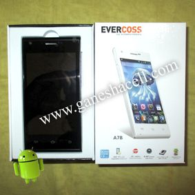 "Evercoss A7B, Layar 4"", Quad Core Processor"
