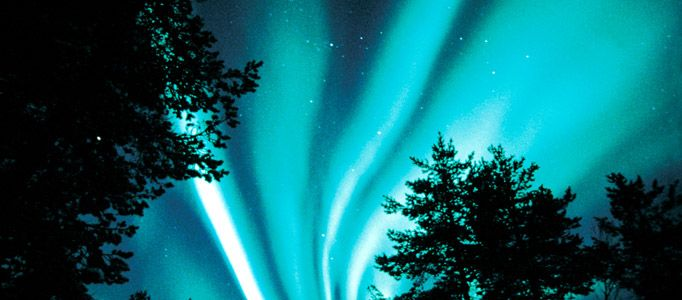 The Great Show in the Skies: The Northern Lights – aurora borealis   Where and when to best see them in Finland