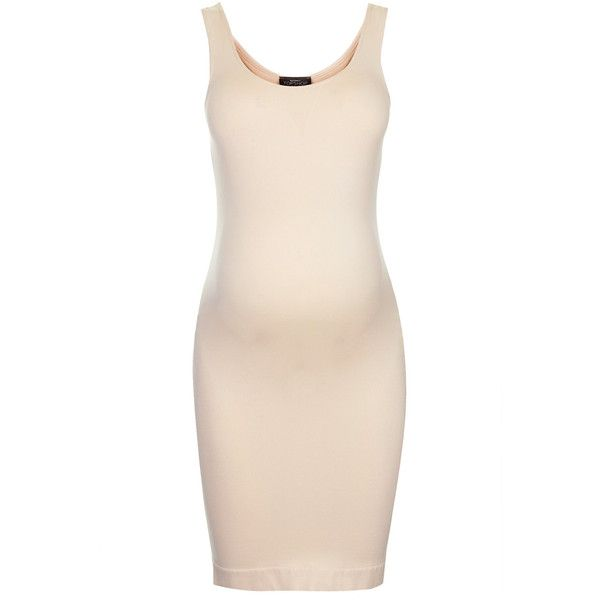 TOPSHOP **MATERNITY Shapewear Layering Slip featuring polyvore, fashion, clothing, maternity and nude