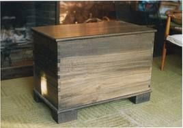 Bridget Powers Design. Irish bog oak chest