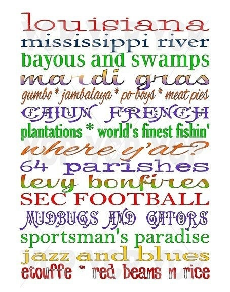 What comes to mind when you think of Louisiana? -- trappeys.com #trappeys #louisiana #tourism