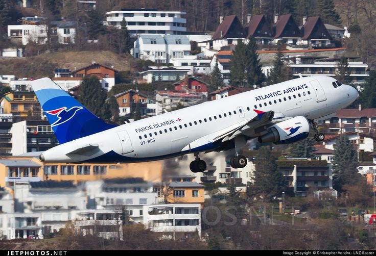 High quality photo of OY-RCG (CN: 5079) Atlantic Airways Airbus A319-115 by Christopher Vondra - LNZ-Spotter