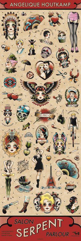 Angelique Houtkamp Plakate präsentiert von Klang und Kleid - SALON SERPENT PARLOUR BANNER - ANGELIQUE HOUTKAMP