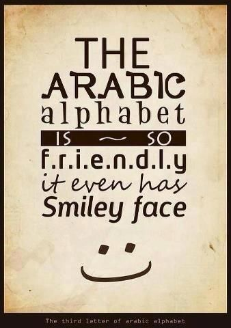 """The word """"alphabet"""" is taken from Arabic language... """"aleph"""" is the first letter in Arabic alphabet, """"baa"""" is the second letter."""
