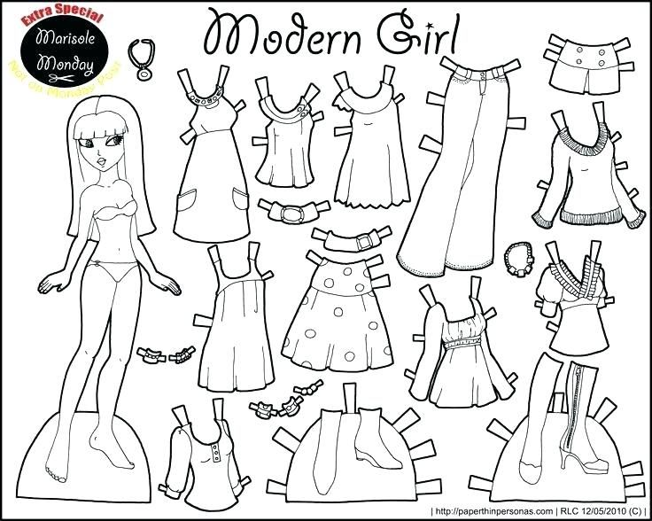 Paper Doll Coloring Pages Paper Doll Clothes Template Dolls Coloring Pages Pin Drawn House Sheet Pap Paper Doll Template Free Printable Paper Dolls Paper Dolls