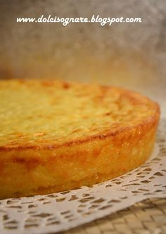 """DOLCISOGNARE: Torta di riso """"cremosa"""""""