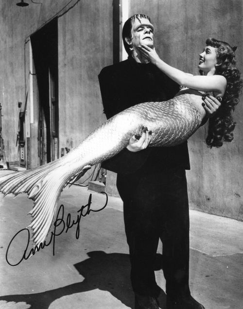 Frankenstein and the Mermaid  - Retronaut