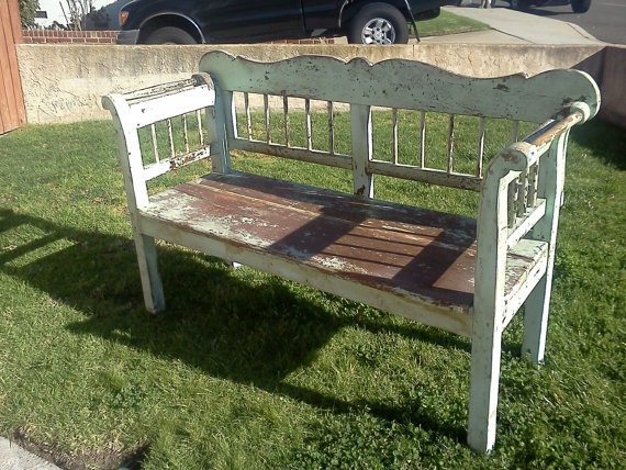 vintage bench - for kitchen table
