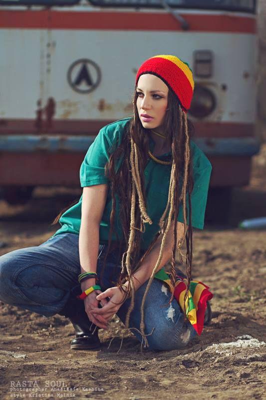 RASTASOUL.  Photographer - Anastasia Kashina.  Style, hairstyle & make up -  Kristina Melnik. Model - Kristina Melnik.