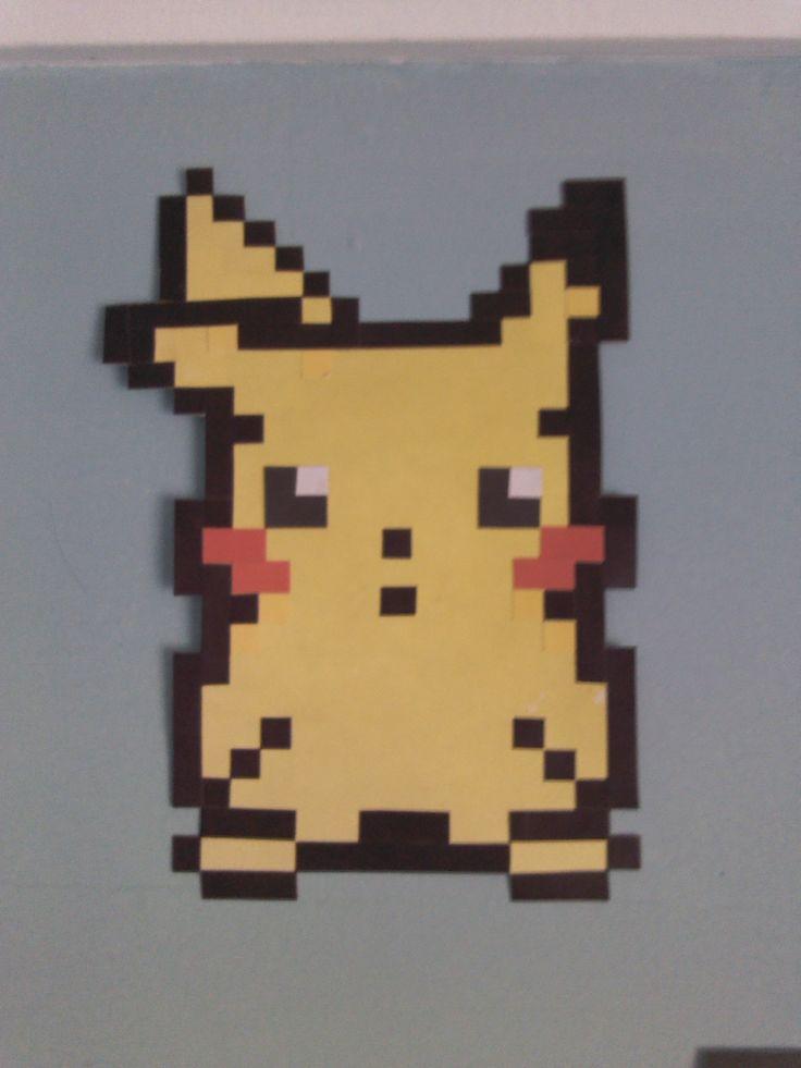 Personaje Pikachu de Pokemon.
