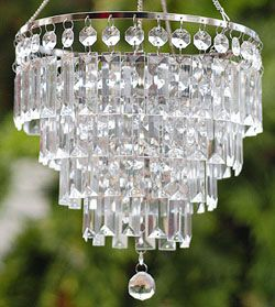 OMG... A Battery Operated LED Chandelier for the camper!  outstanding!