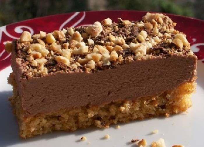 Vynikající zákusek s chutí nutelly a ořechovou drobenkou vám určitě zachutná. Je jednoduchý na přípravu a vhodný pro různé oslavy, jubilea, ...