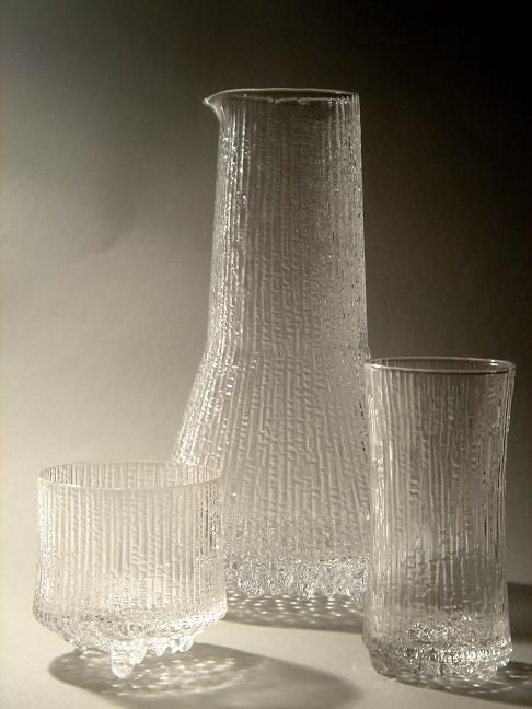 Ultima Thule by Tapio Wirkkala ~ I believe this is my sister's wedding set. Wouldn't it be nice to get her a piece for her 40th?