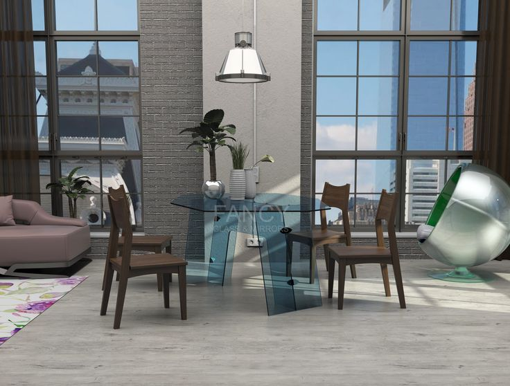 Our MALACHITE GLASS DINING TABLE has been created to get the best possible impression of the space it is placed into. It will bring more beauty in your life and create more quality of life by adding more essence to the space. The unique shape of this table's glass top and base is perfectly balanced.