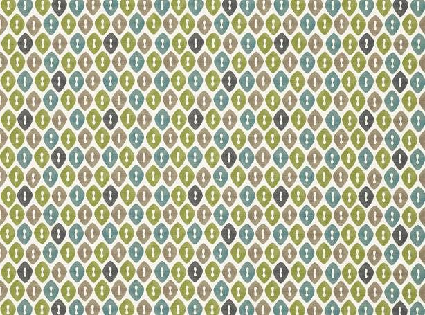 Cole fabric from Romo, in lagoon  Nesting  Pinterest