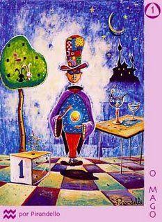 01 - O Mago – O Artista Contemporâneo. O azul profundo o atrai para o infinito, desperta a sede para o espiritual enquanto ele sente o feeling das sofisticadas costuras entre os mundos.