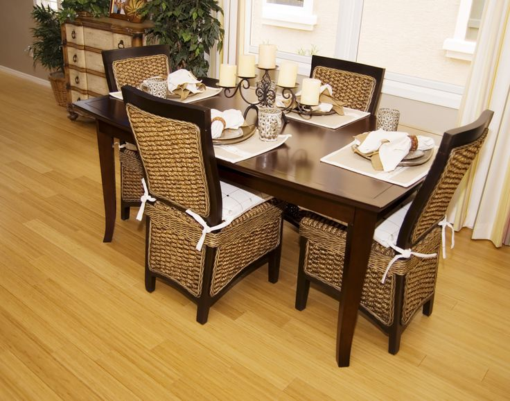 Modern Dining Room Design With Mango Wood Dining Chairs And Glass Top  Designs: How To
