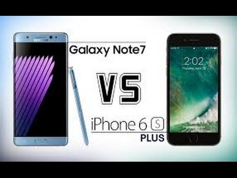 Samsung Galaxy Note 7 vs iPhone 6S Plus Which Should You Buy