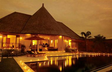 Kunja Villa and Spa, Bali  It's magical here ~