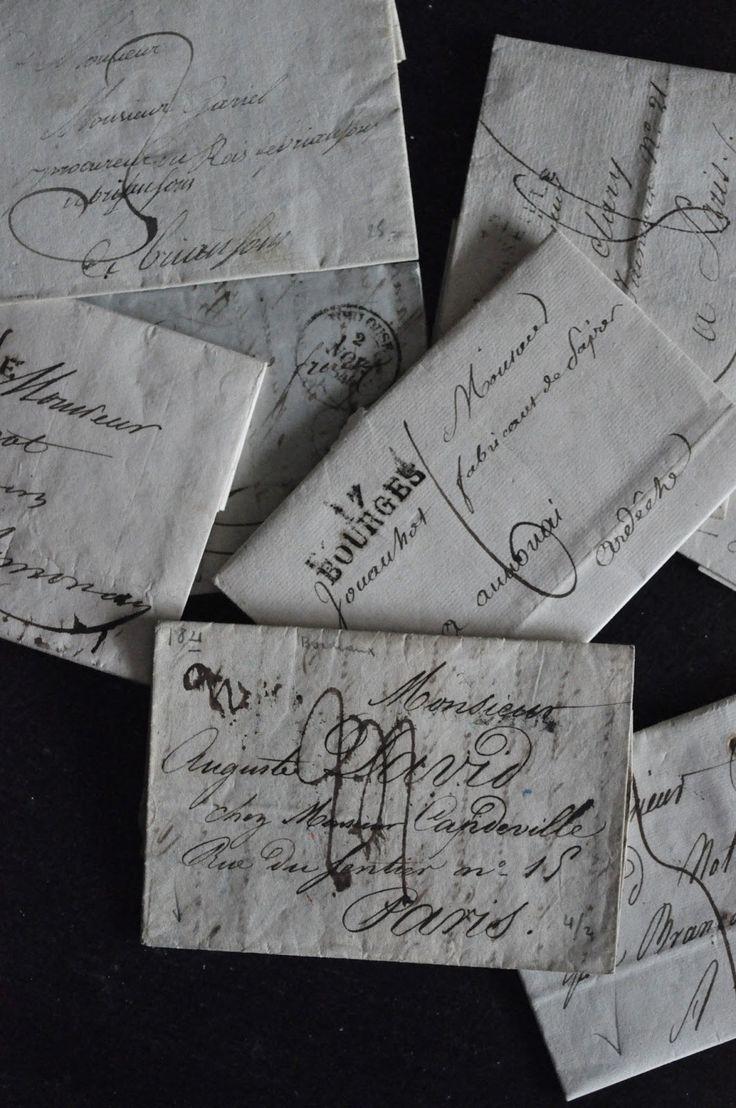 ariesascending from httpthefullerviewtumblr Old LettersHandwritten