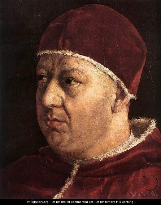 Pope Leo X with Cardinals Giulio de