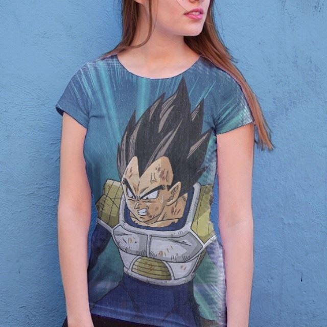 camisa dbz