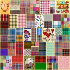 Plaid Collage 33 (400 pieces)