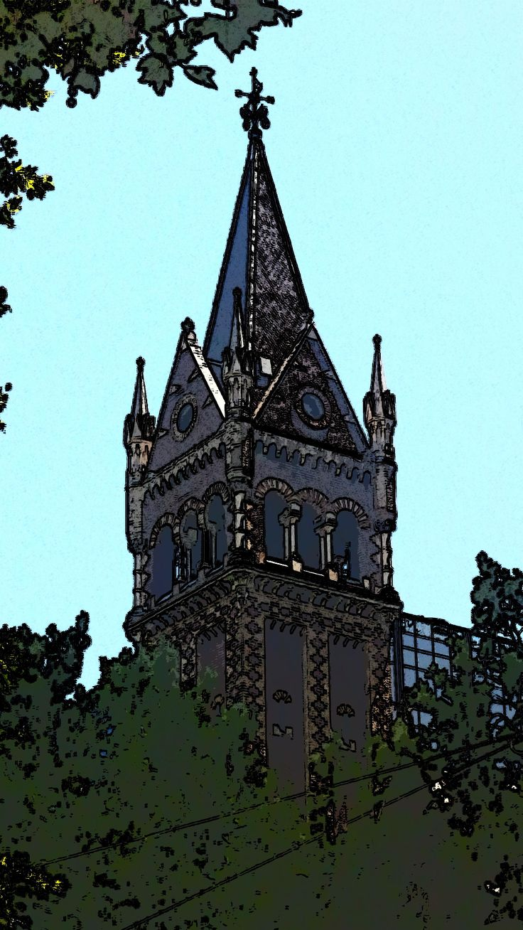 Collins Street Church - crn Russell St - SE corner