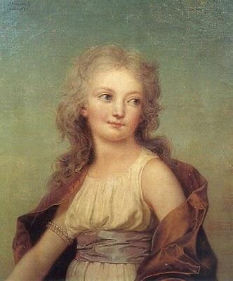 Marie-Therese Charlotte, daughter of Marie Antoinette