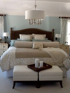Cape Cod Retreat Home--The color in this room is Benjamin Moore - Harbor Haze 2136-60