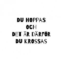 sluta hoppas