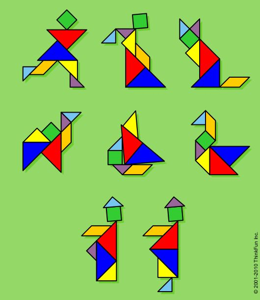 Tangram Christmas Tree: 35 Best Ideas About Tangrams On Pinterest