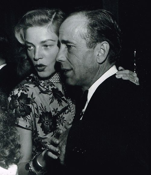 How Do You Put Quotes On Pictures: Humphrey Bogart And Lauren Bacall