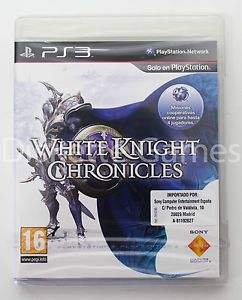 a white knight chronicles playstation 3 ps3 play station 3 pal espana nuevo