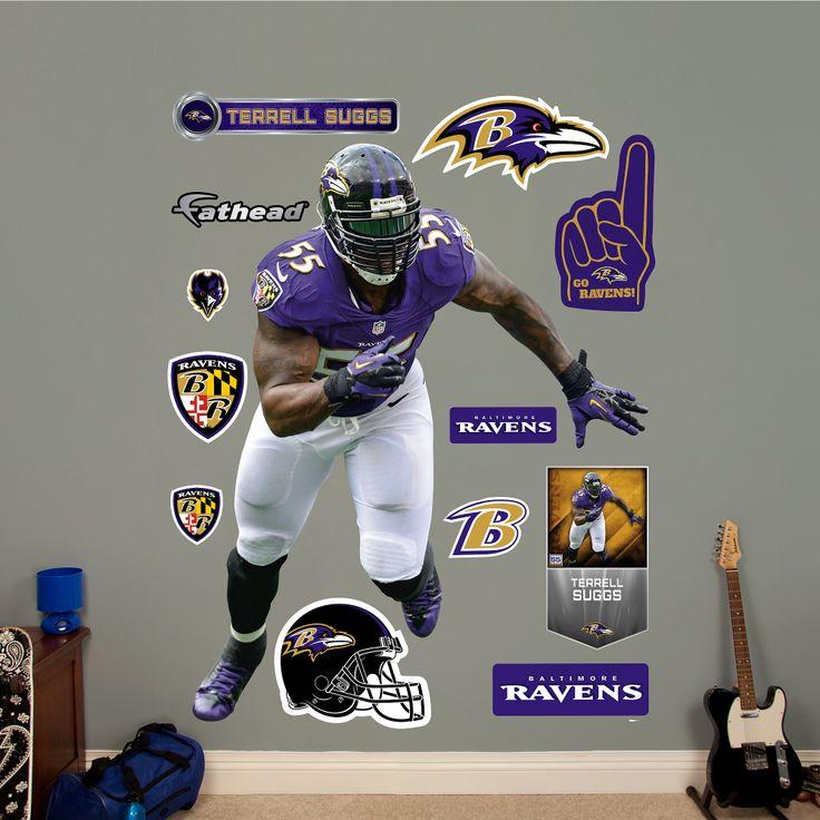 Captivating Shop NFL Baltimore Ravens At Fathead Part 13