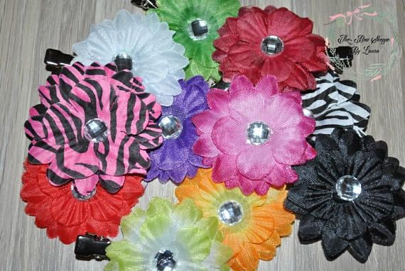 Hey, I found this really awesome Etsy listing at https://www.etsy.com/listing/580931239/flower-pigtail-hair-clips-flower-hair