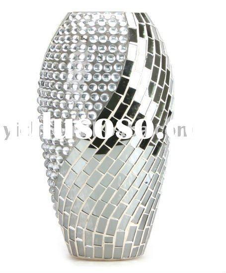 Silver_Mosaic_Glass_Flower_Vases.jpg (455×548)