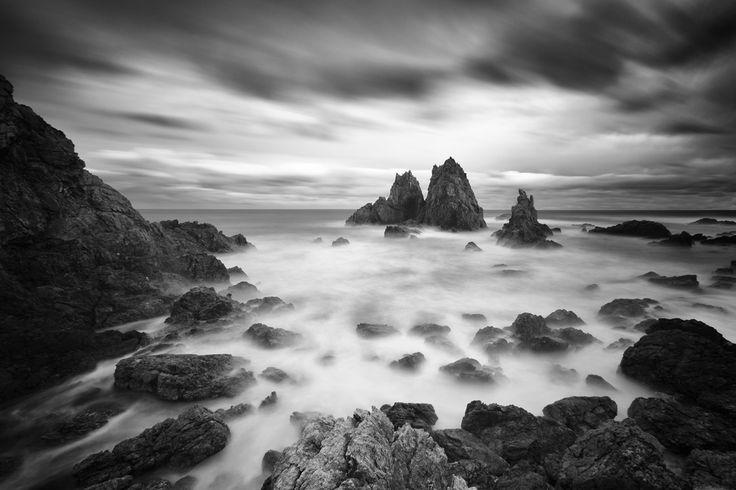 Photographie, Numérique dans Nature, Paysage, Plage, Canon EOS 5D MKII, EF16-35mm f/2.8L II USM, Tripod, long exposure, PP in PS 5.1, Camel Rock, Bermagui, New South Wales (NSW), Australia - Image #382706