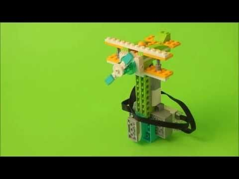 Biplane LEGO WeDo 2.0 - YouTube