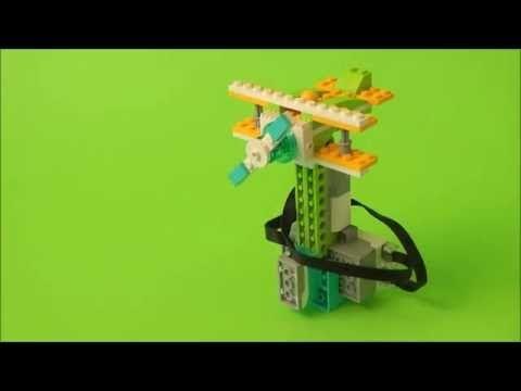 Biplane LEGO WeDo 2.0 - YouTube