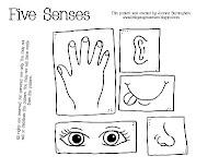 five senses printable