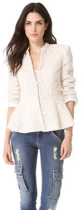 Alice olivia Polly Peplum Jacket Alice   Olivia