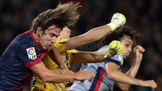 "Carles Puyol, ""El Excelso"", FC Barcelona. | FC Barcelona 5-1 Osasuna. 2013-01-27."
