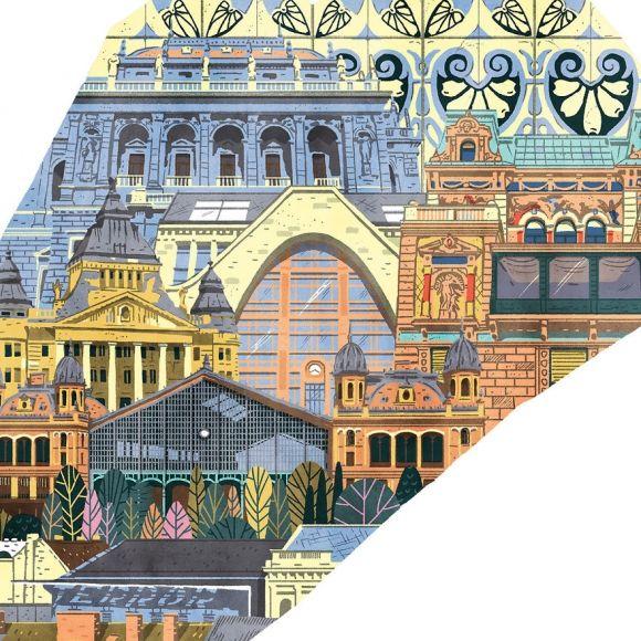 Kreatív Online - Nagyon menő poszterek budapesti kerületekről
