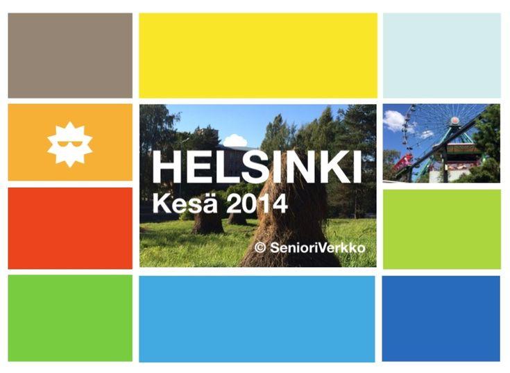 Virtuaalinen kesäretki Helsingissä. Kuvatoiveita tekivät Kontulan palvelukeskuksen ryhmäläiset. Ensi-ilta oli SeniorSurf-päivänä 7.10.14