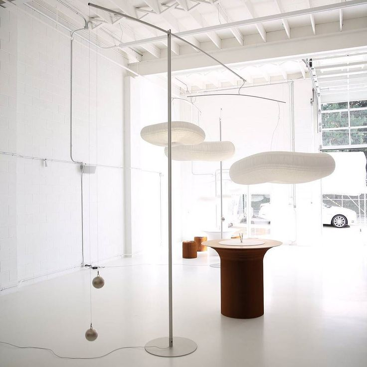 #Innovation can breathe a new wave of air into any space! These Cloud #mobile #lamps by @molo_studio are our new favourites! They use smart concepts & great colour along with a clean fresh feel of originality!  #lamps #officelamps #hanginglamps #bespoke #new #decor #lighting #luxurylighting #designerlighting #lights