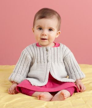 Free+Knitting+Pattern+-+Baby+Sweaters:+Everyday+Baby+Cardi