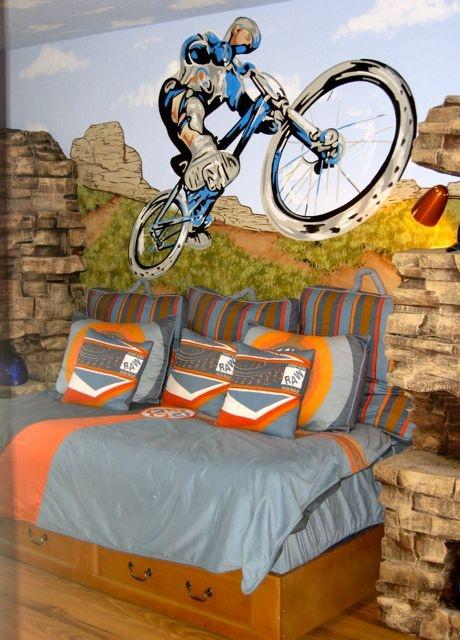 33 best dirt bikes images on pinterest dirt bikes dirt for Dirt bike bedroom ideas