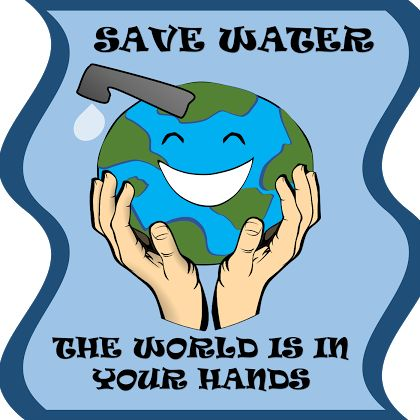 Poster for water conservation                                                                                                                                                                                 More