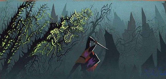 eyvind earle posters - Google Search
